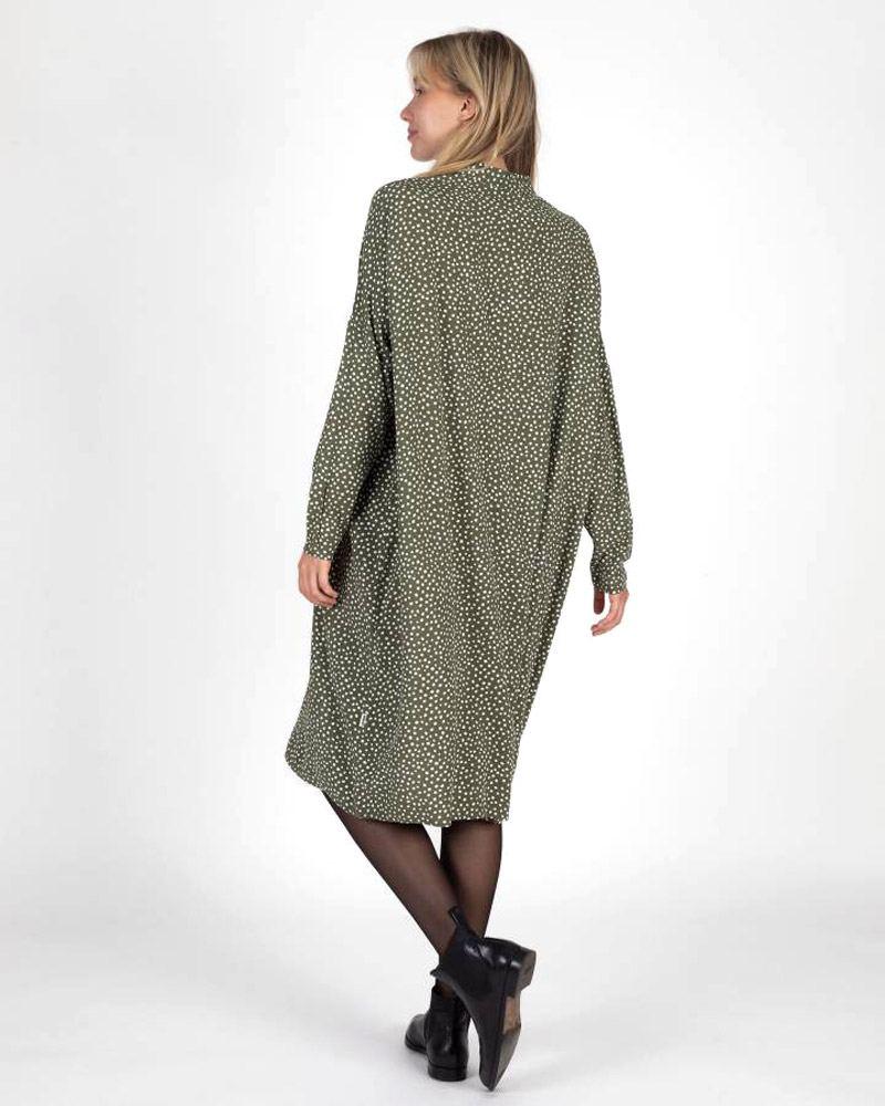 Irene Hemdblusenkleid Olive