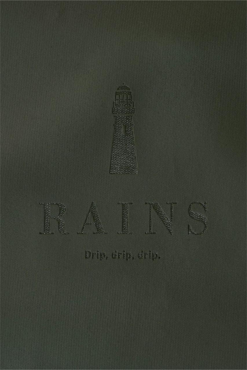 Rains Tote Bag Rush Green