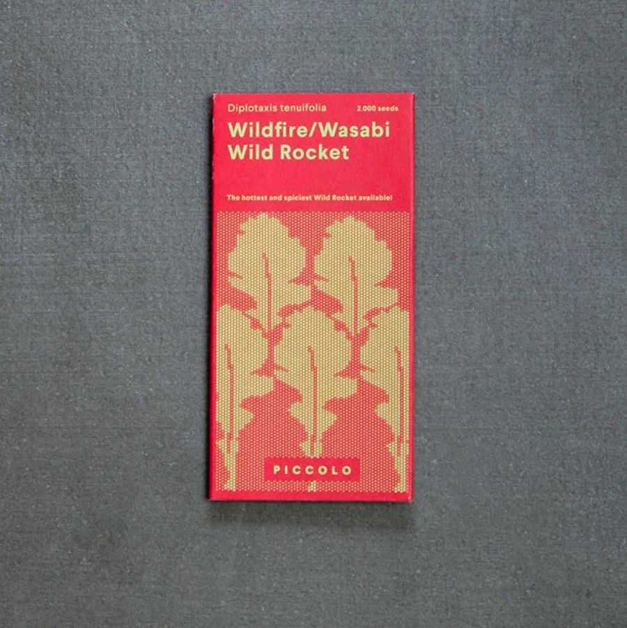 Wildfire-Wasabi Rucola Saatgut