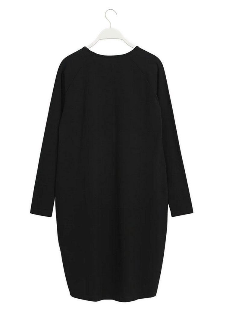 Oval Dress Black