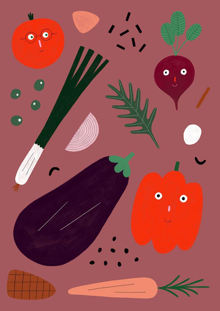 Veggies Print (Din A3)