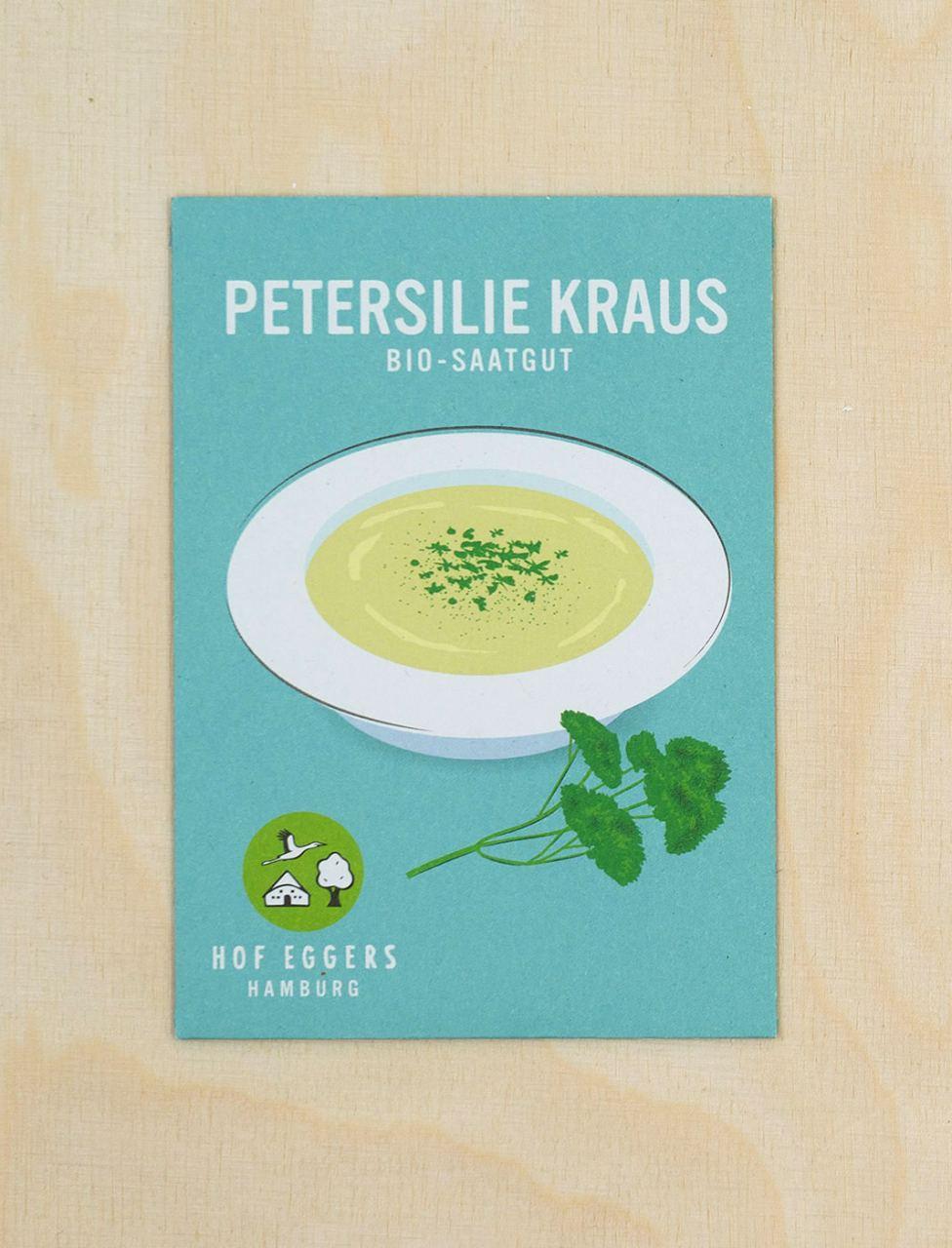 Petersilie Kraus, Bio-Saatgut