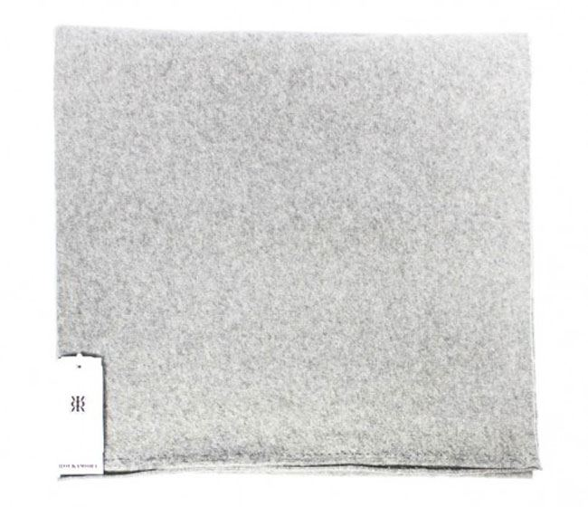 Kibo Schal Light Grey