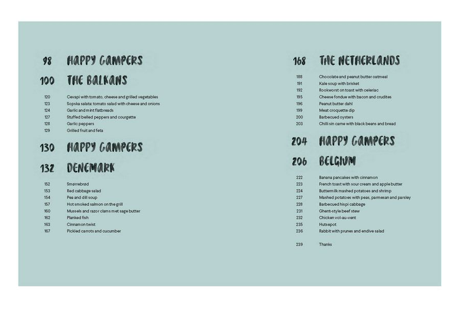 Camperfood & Stories