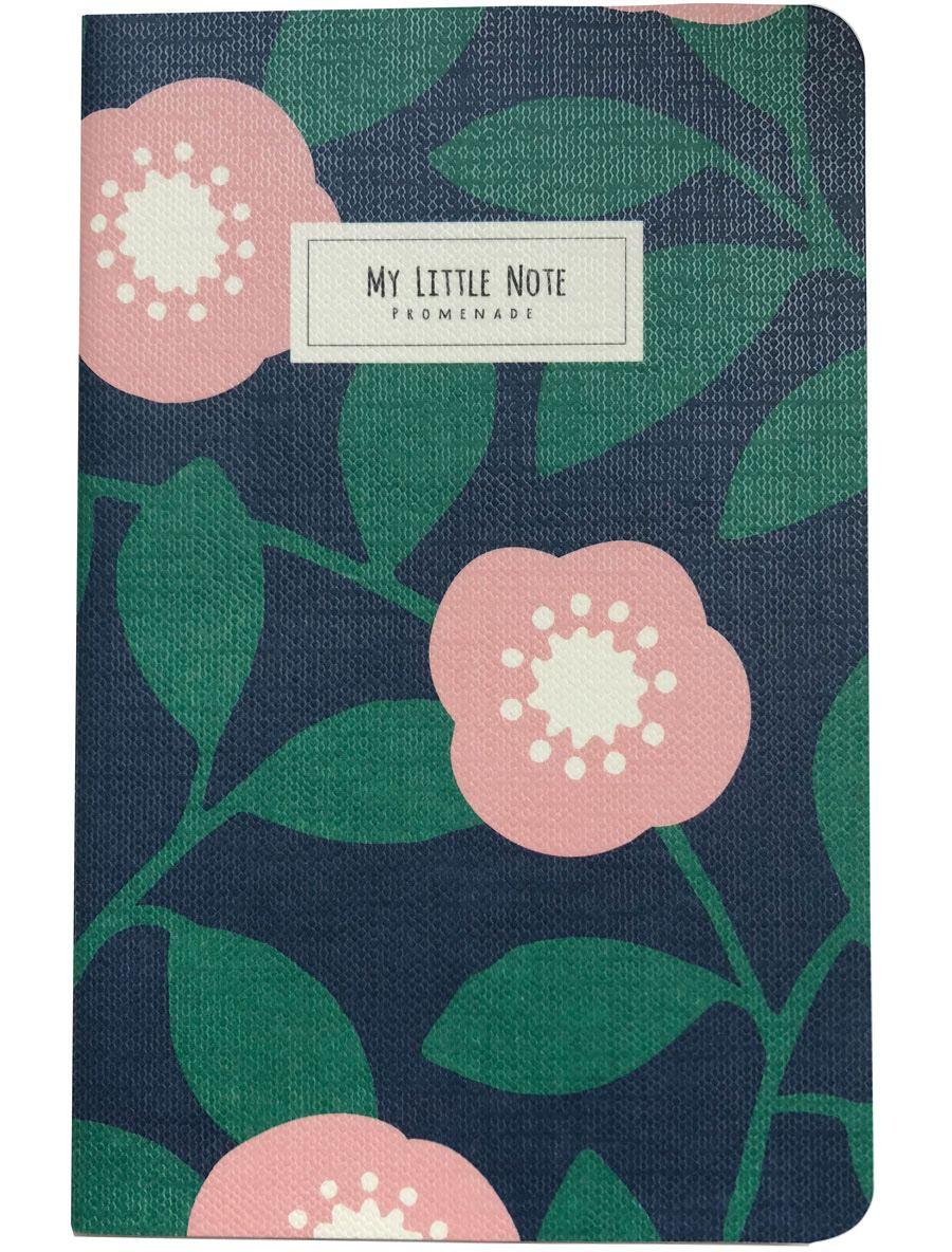 Promenade Mini Note - Bloom Blue