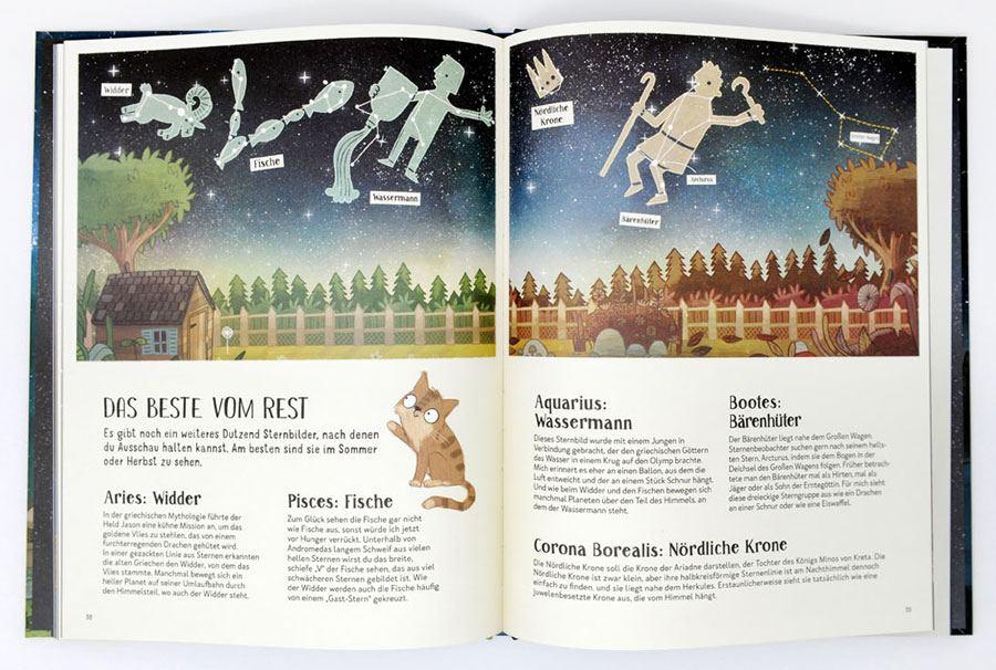 Mit Feli durch die Nacht - Planeten, Sterne, Umlaufbahnen