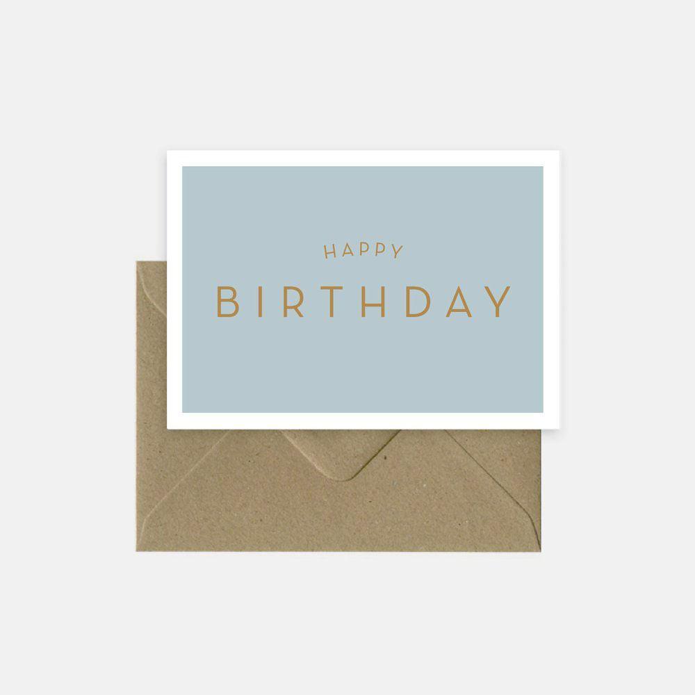 Michoucas Happy Birthday Klappkarte