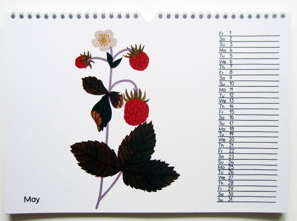 2020 Seasonal Fruit Kalender