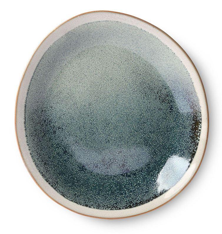 70's Ceramics Teller Mist