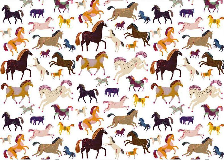 Horses Geschenkpapier