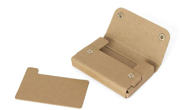Pasco PULP Card Case Beige