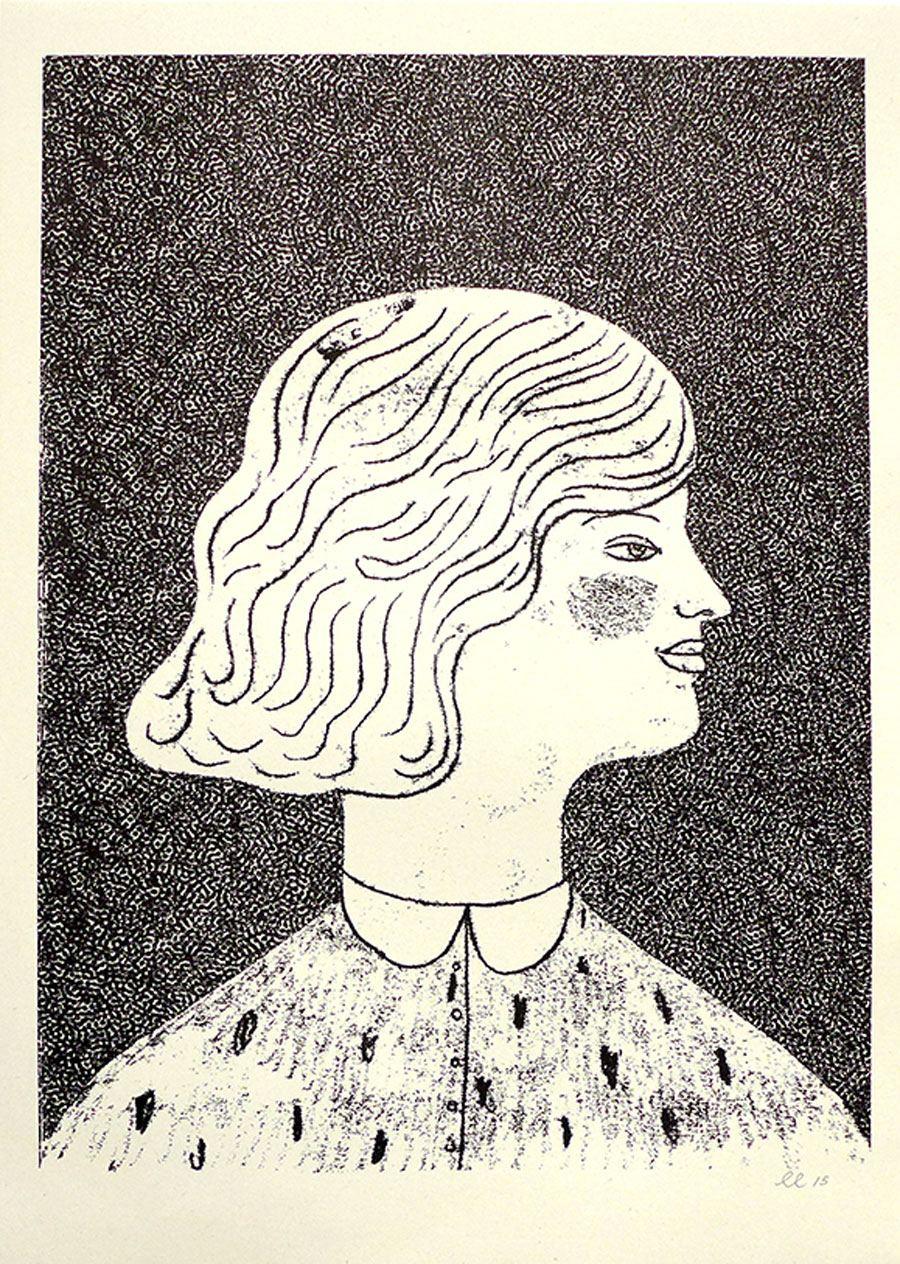 Girl Risograph Print (Din A3)