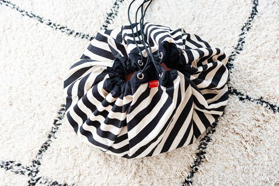 Play & Go Spielsack Stripes Black