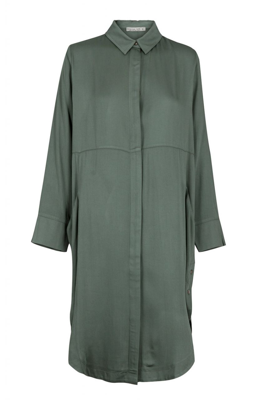Dorie Kleid Ecovero Mid Green