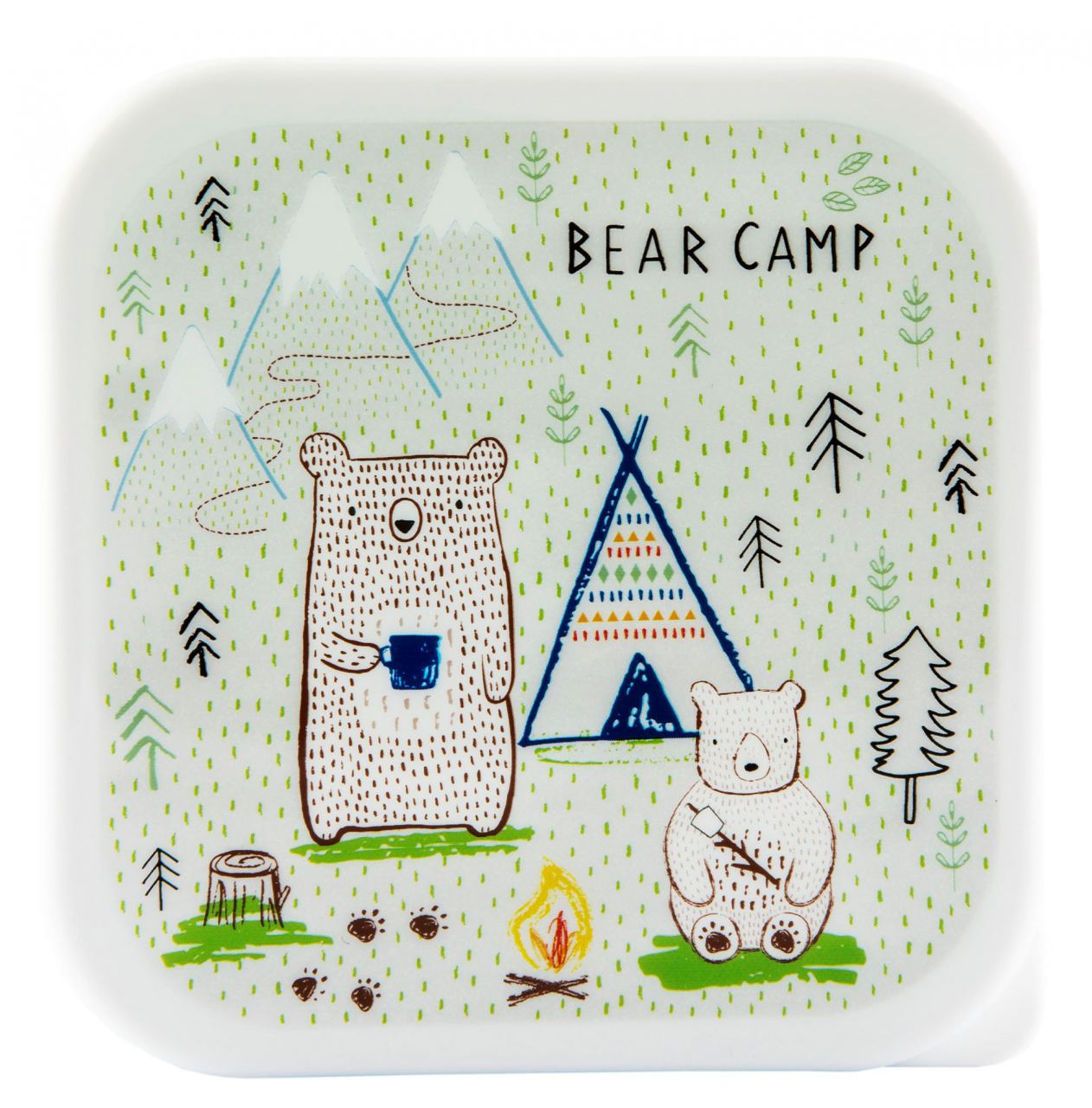 Bear Camp Lunchbox