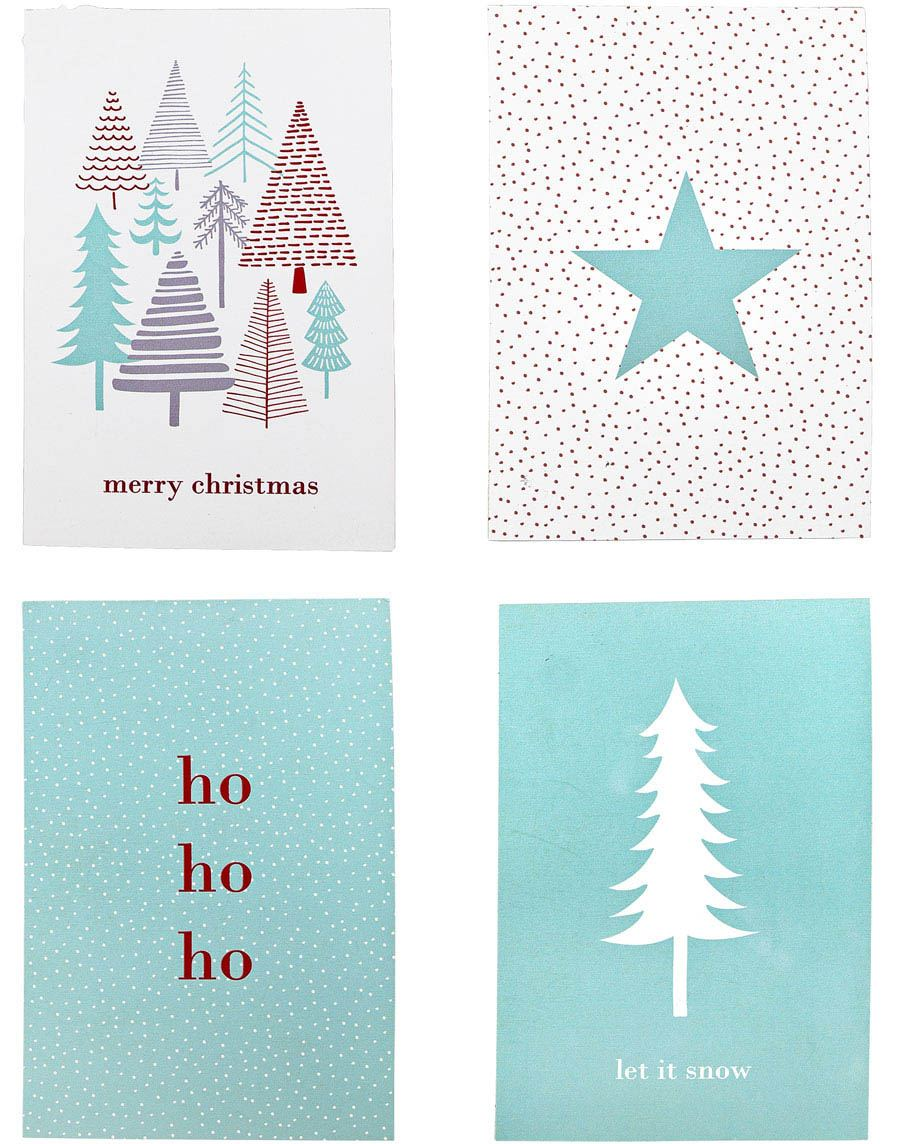 Christmas Kartenset (4St.)