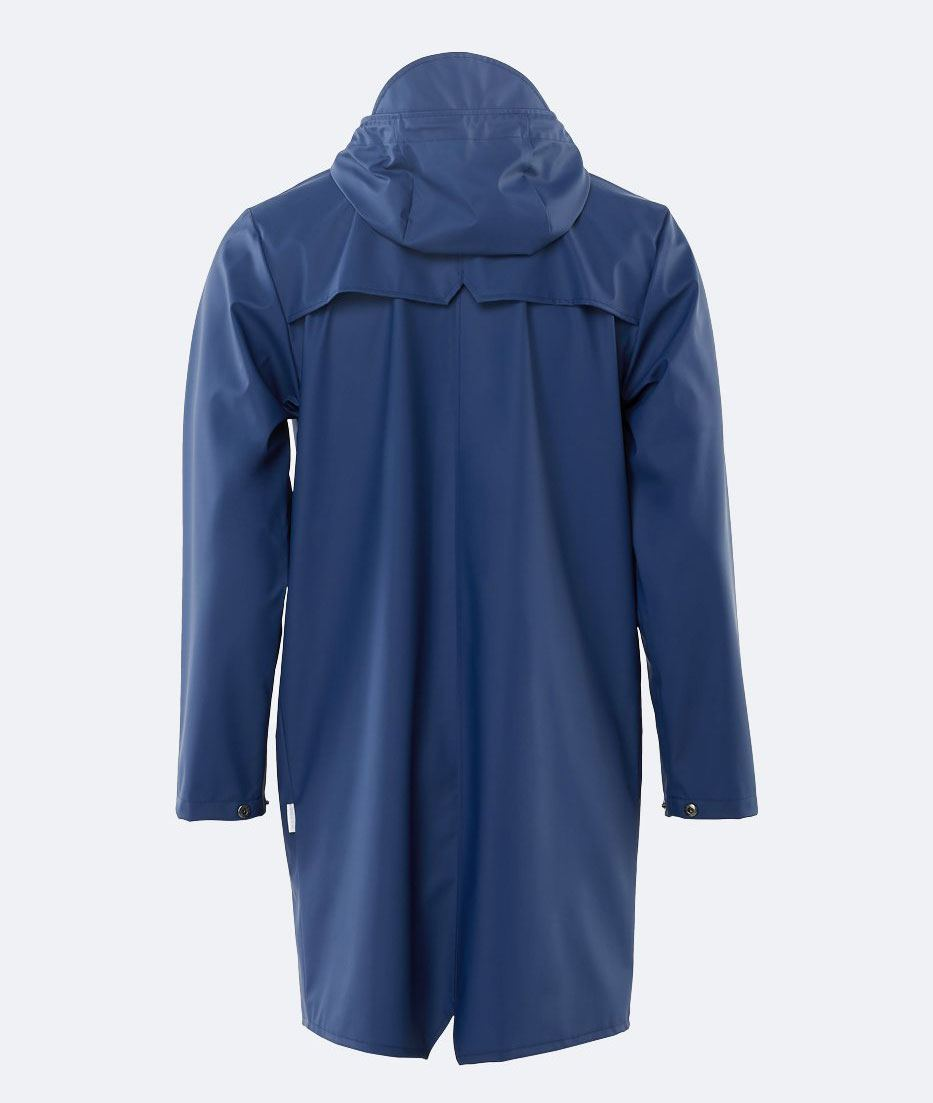 Long Jacket Klein Blue