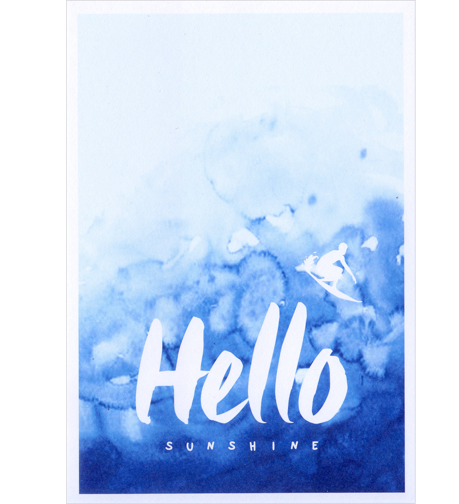 Hello Sunshine Postkarte