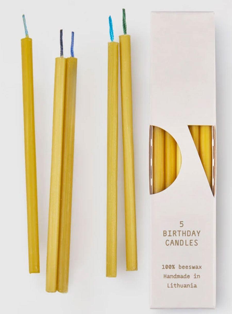 OVO Things 5 Birthday Candles Bluish
