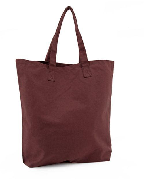 Shopper Baumwolle Merlot Red