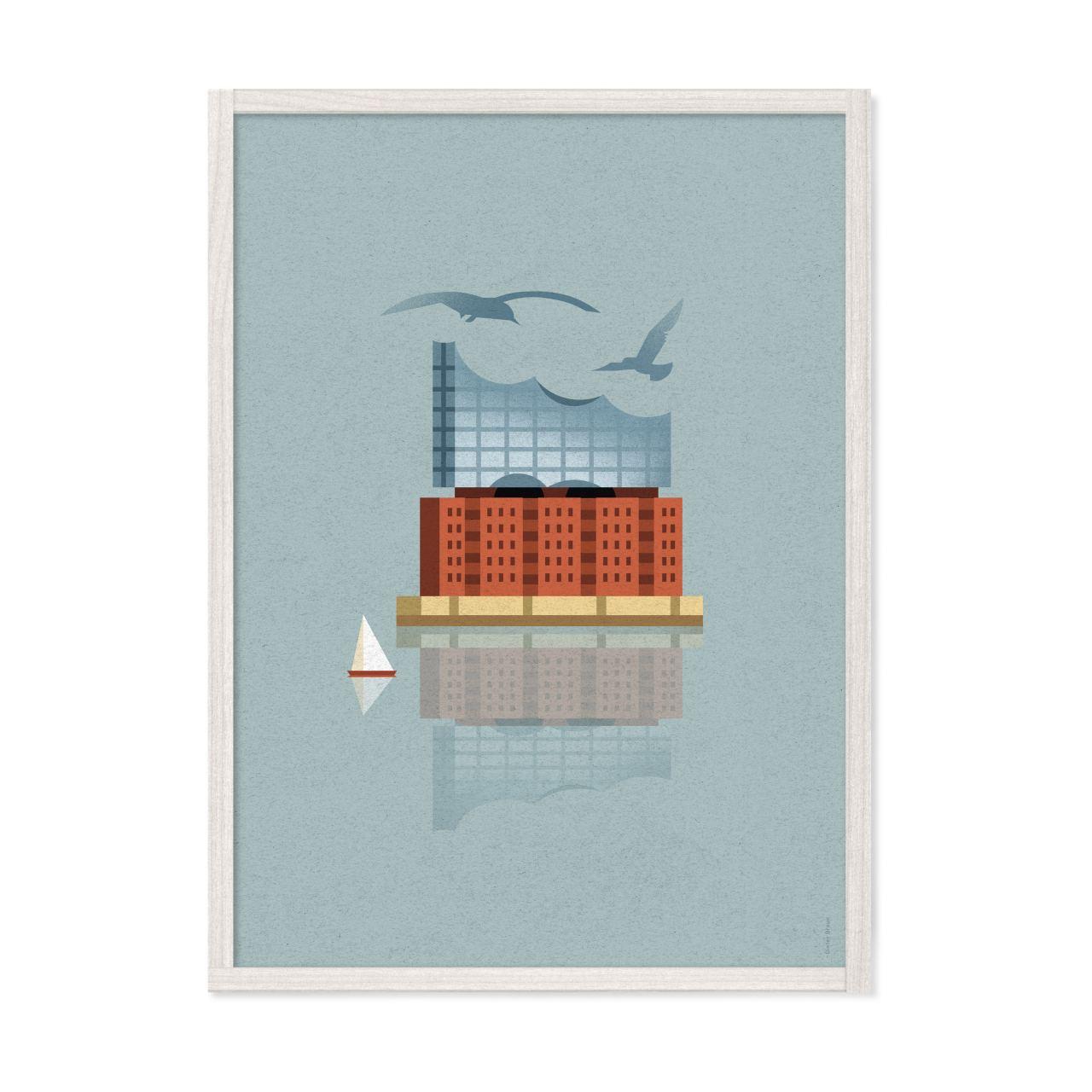 Elbphilharmonie Poster (29,7 x 42 cm) - Dieter Braun | Human Empire Shop