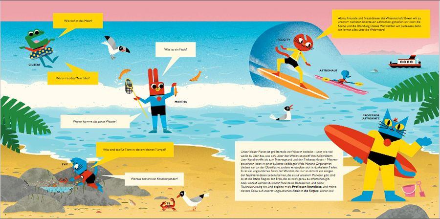 Professor Astrokatz - Reise in die Tiefsee