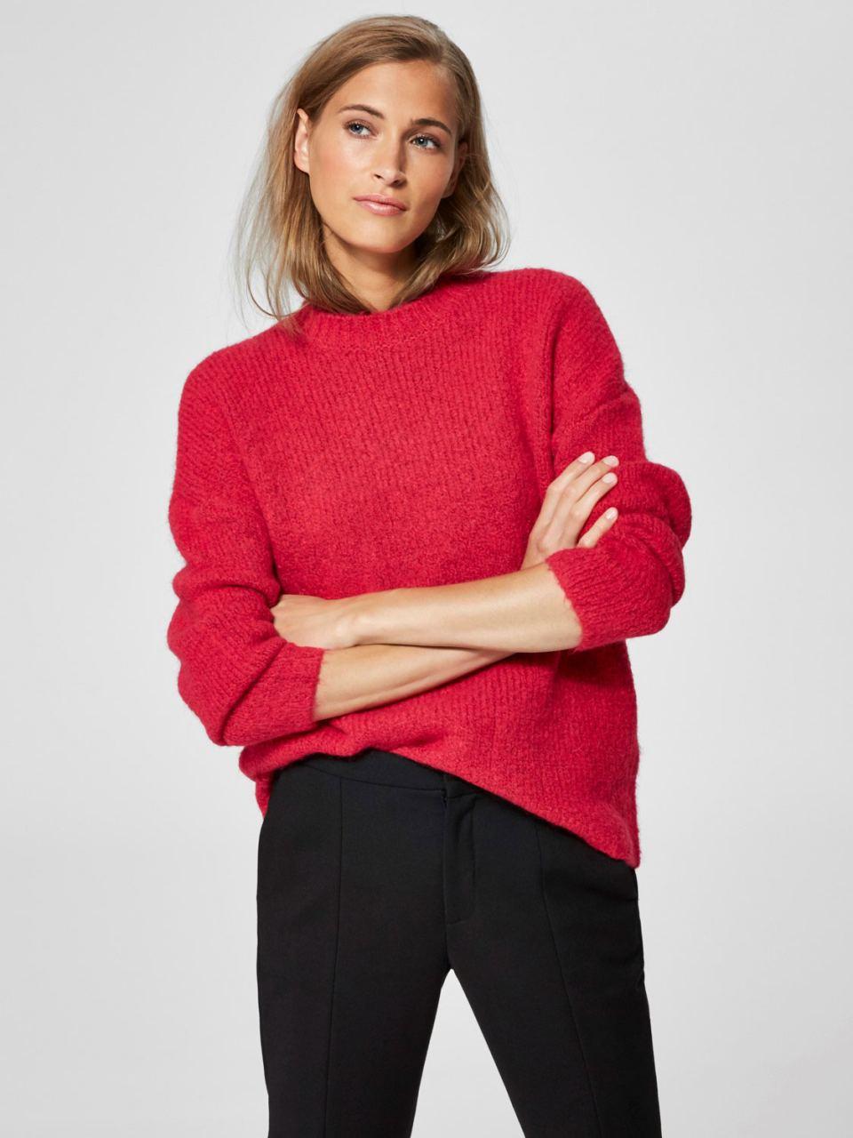SLFREGINA Pullover Slate Rose