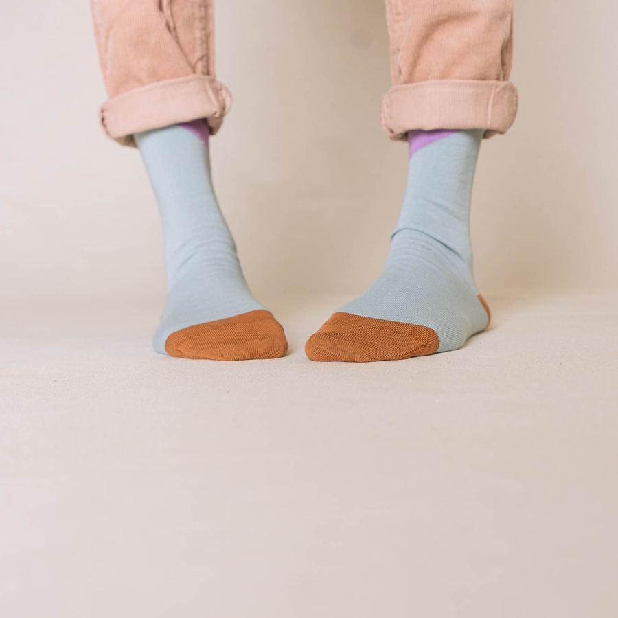 Nice Socks Diagonal Petrol