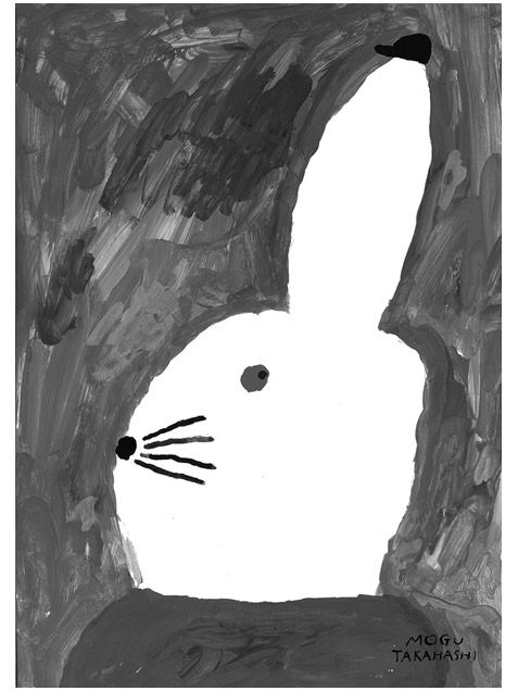 Rabbit with Small Hat Poster (50x70cm)