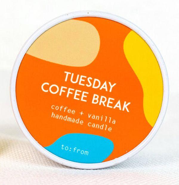 Tuesday Coffee Break Kerze