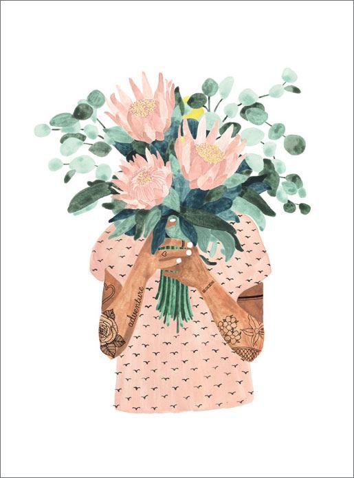 Tattoo Girl Print (29,7 x 39,7cm)
