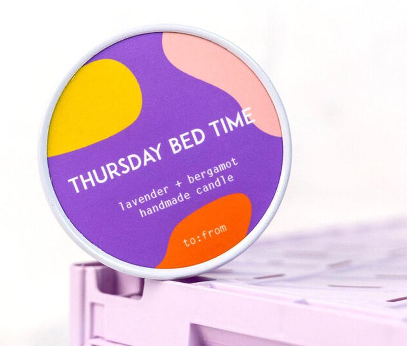 Thursday Bedtime Kerze