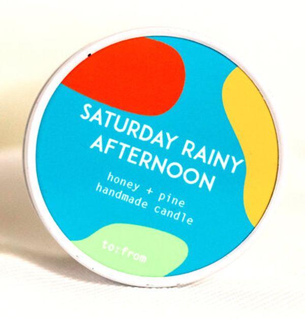 Saturday Rainy Day Kerze