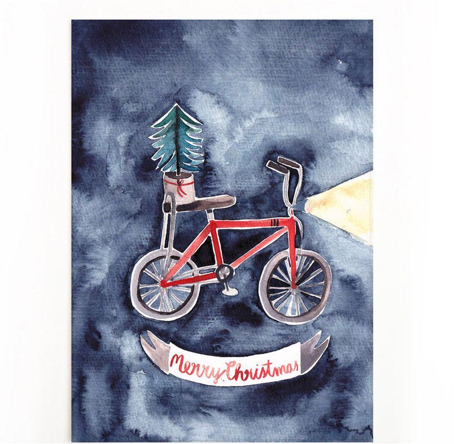 Stranger Christmas 2 Postkarte
