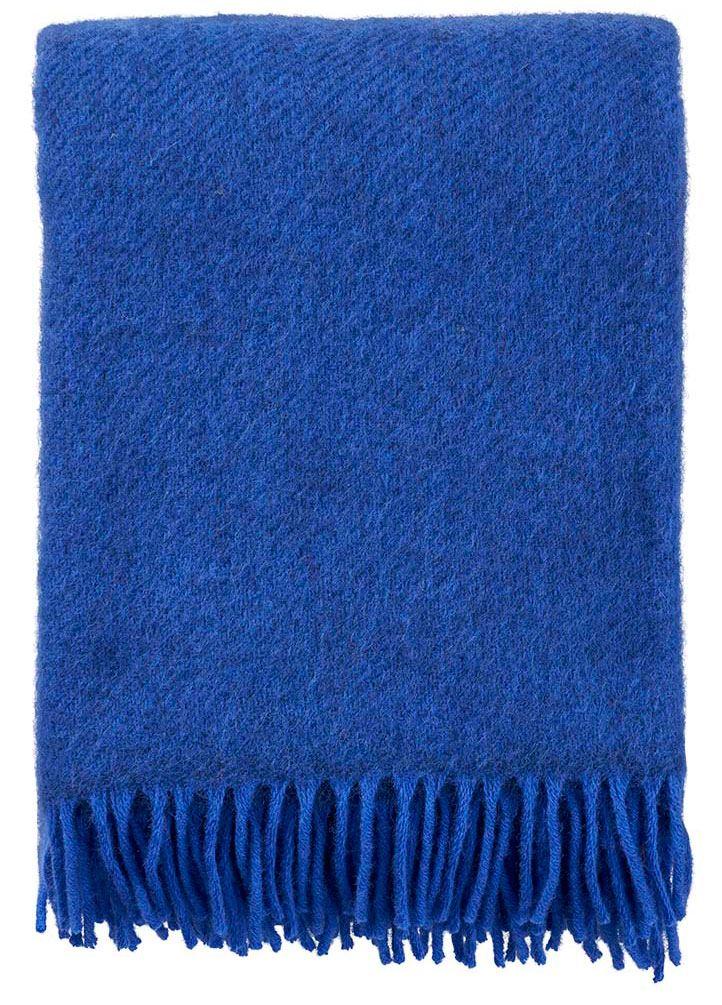 Gotland Decke Blue