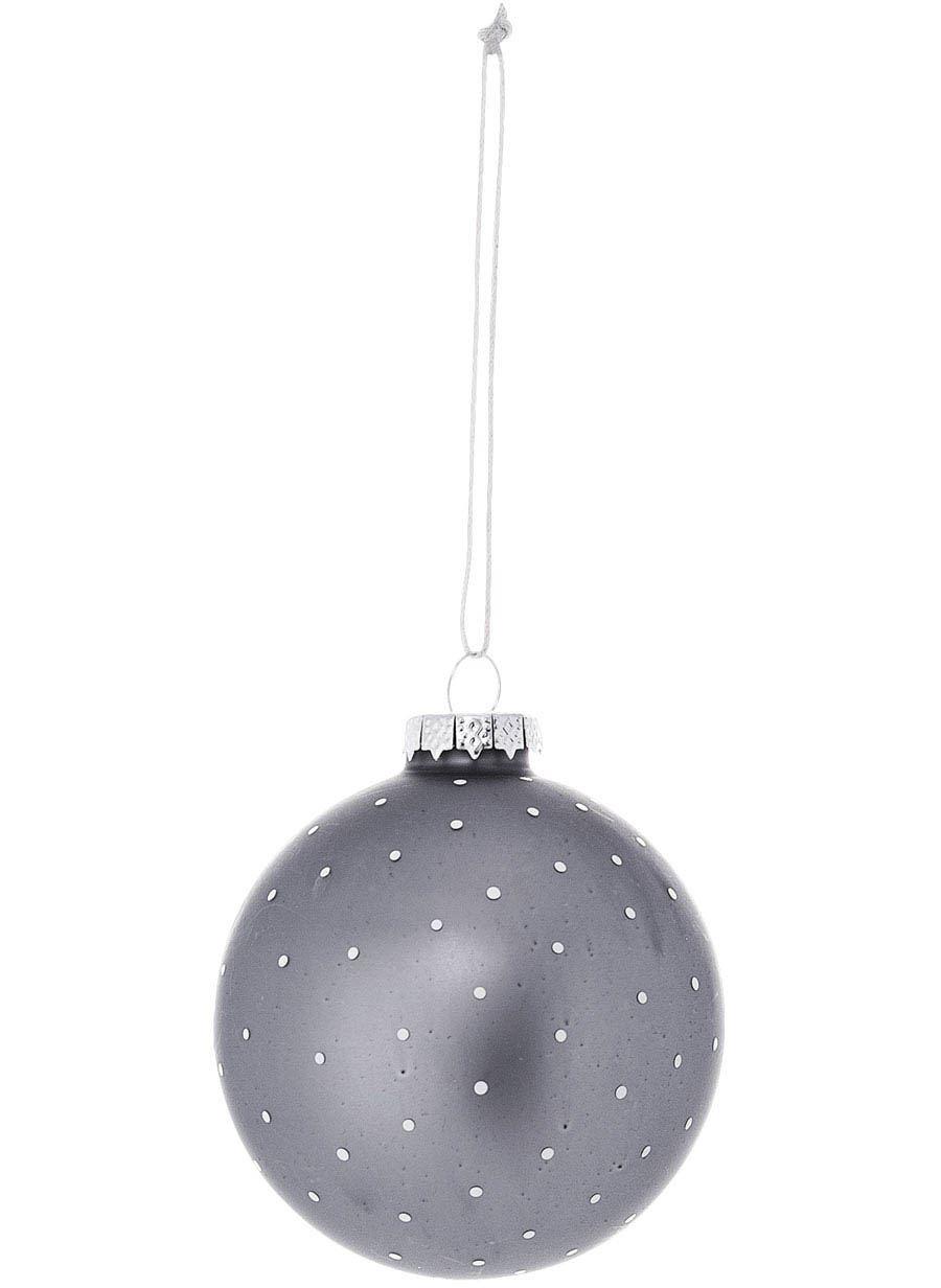 Ornament Glas Grey #3
