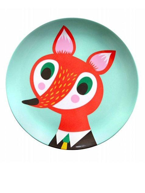 Mint Fox Teller (∅ 20cm)