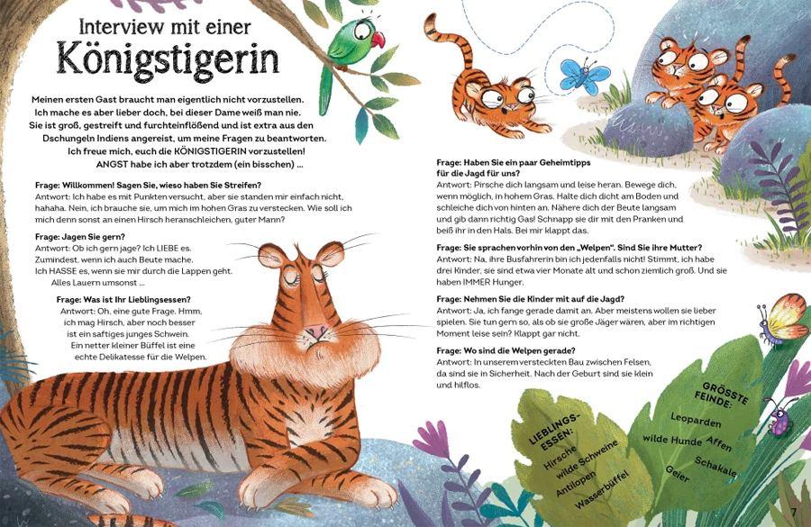 Interview mit einem Tiger