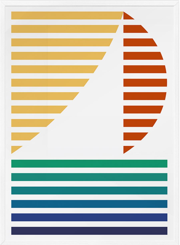 Sailing Poster (50x70cm)