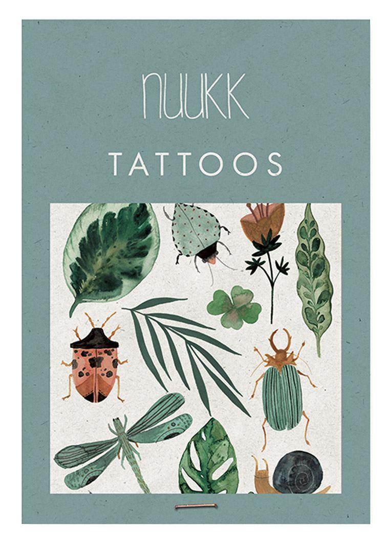"""Organic Tattoos """"Greenery"""""""