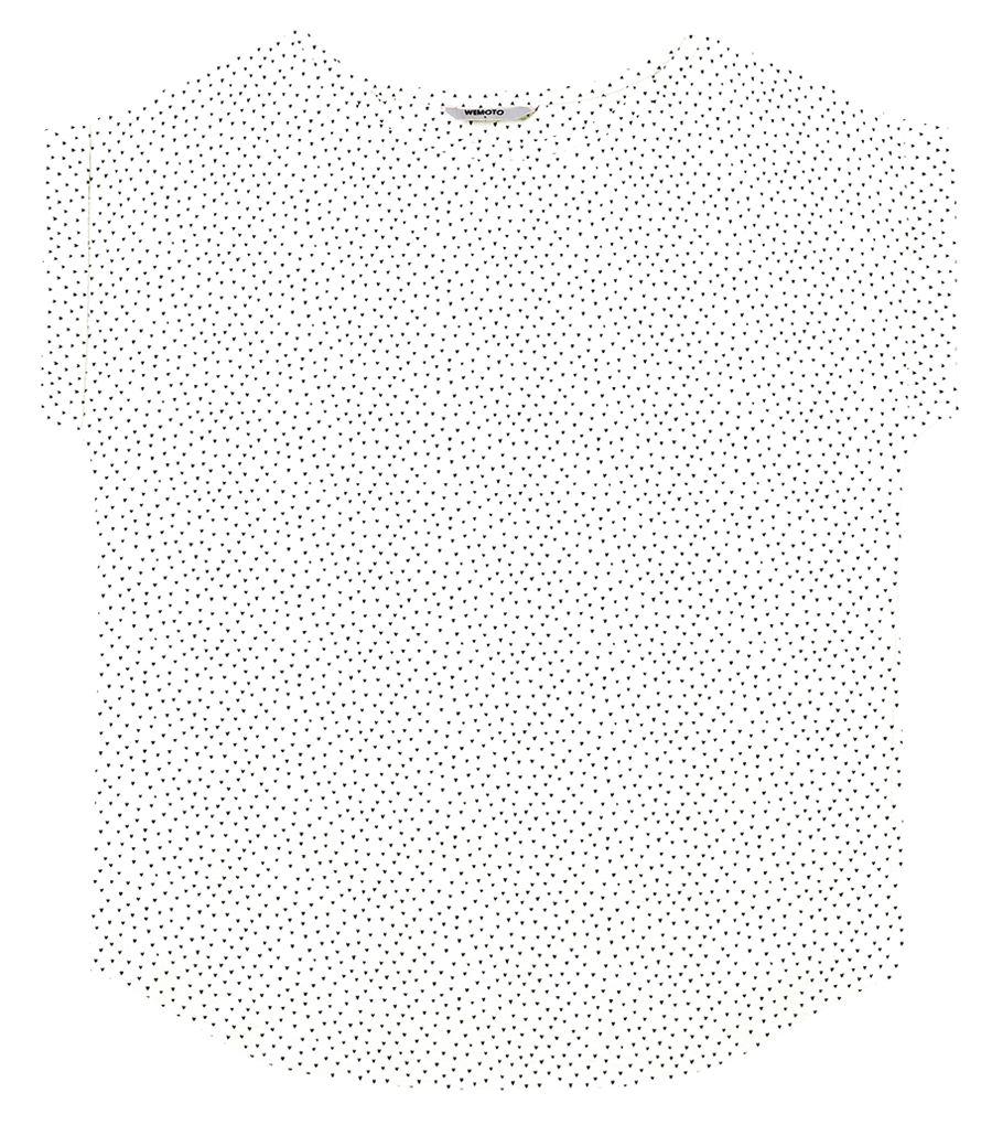 Holly Shirt Printed Off White-Black