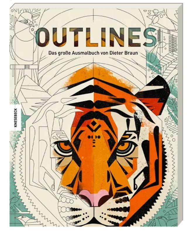 Outlines-Ausmalbuch