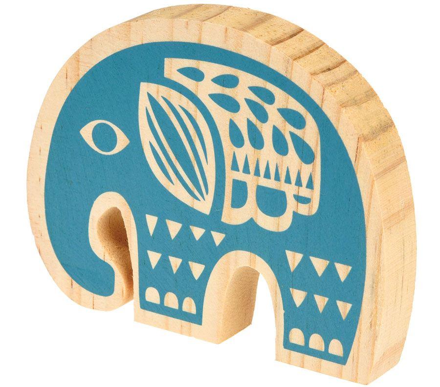 Elefant aus Holz Folk
