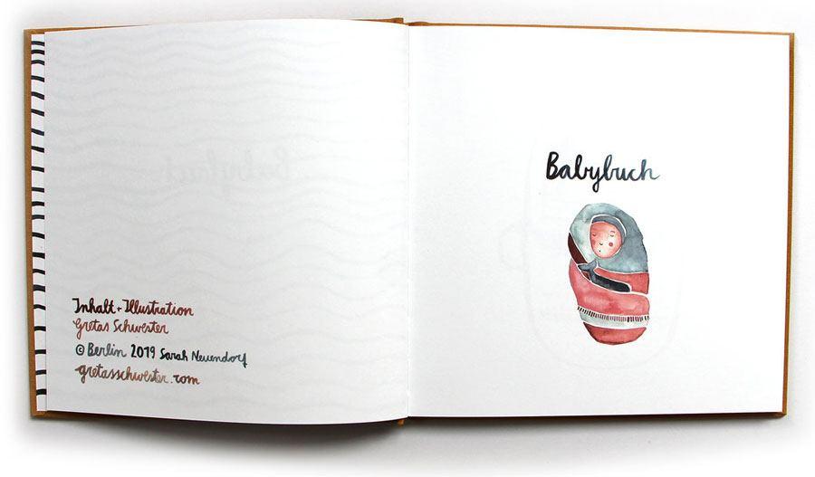 Tagebuch Babybuch