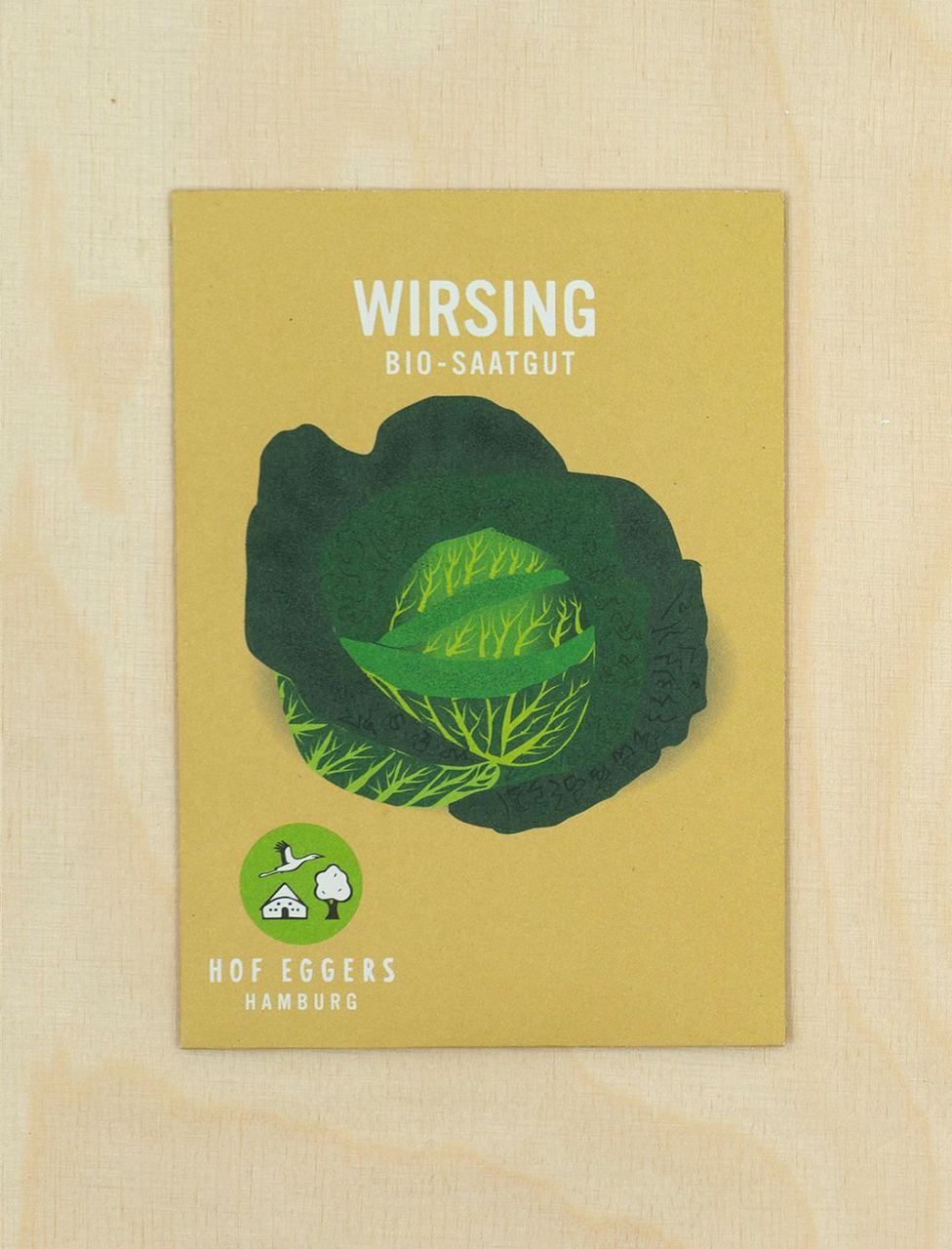 "Wirsing ""a pied court de plainpalais"", Bio-Saatgut"