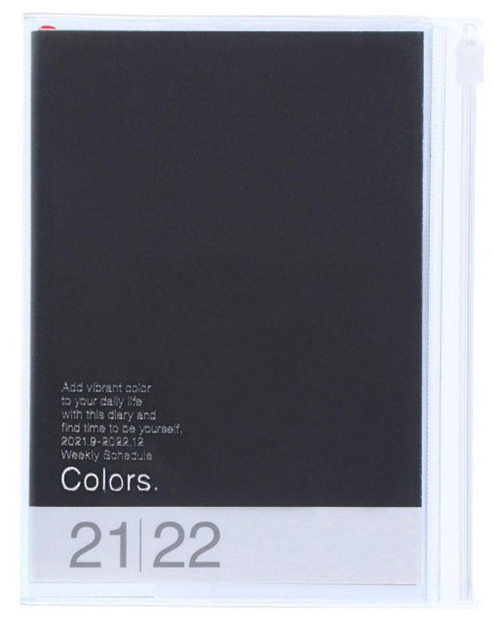 2022 Taschenkalender A6 Storage.it Black
