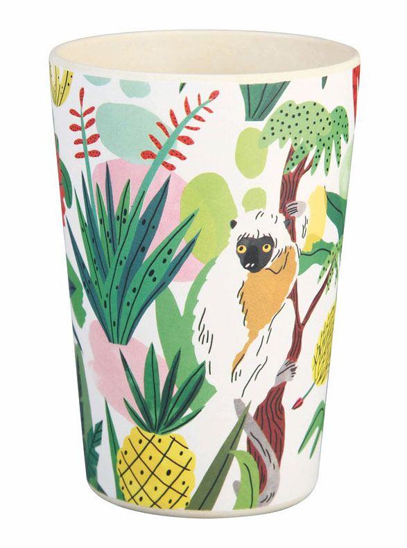 Bambus Becher Bodil Toucan & Lemur