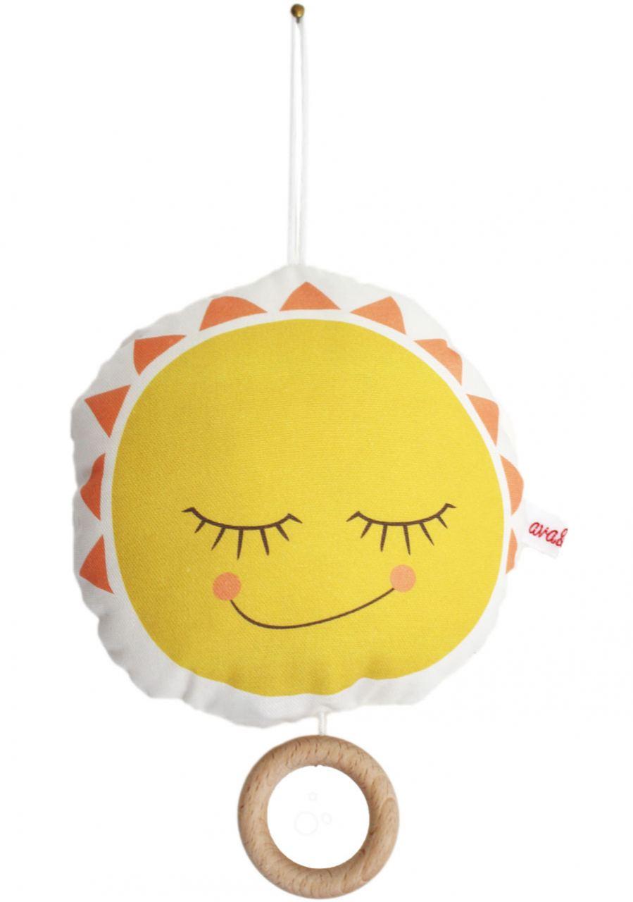 Spieluhr Sonne/Mond
