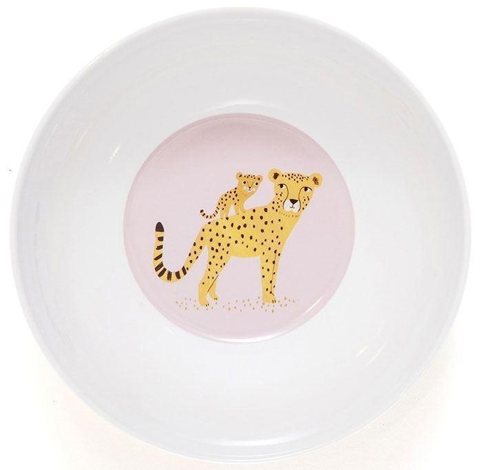 Leopard Ochre Schüssel