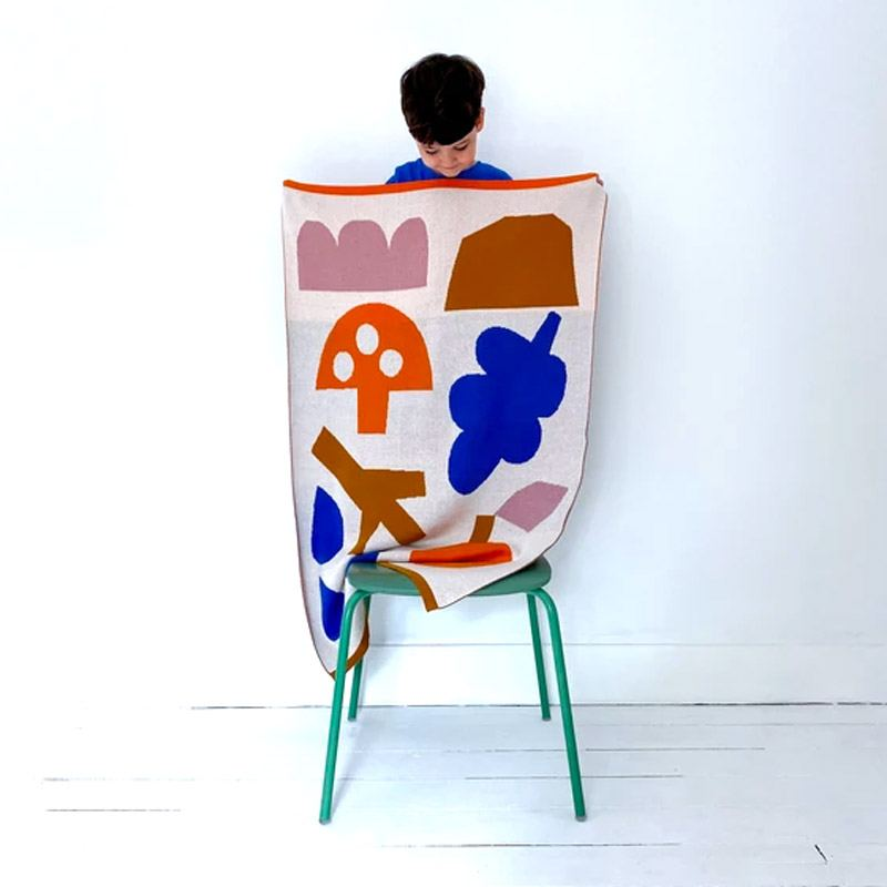 Sophie Home x Prints by KA Babydecke Woodland